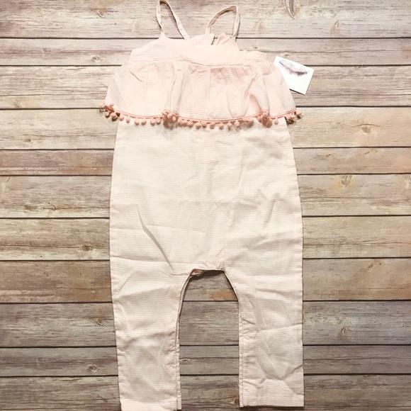 1658b90ac294 Jessica Simpson Baby Girls Pink Romper